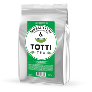 totti tea emerald leaf
