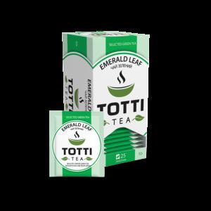 totti tea emerald leaf
