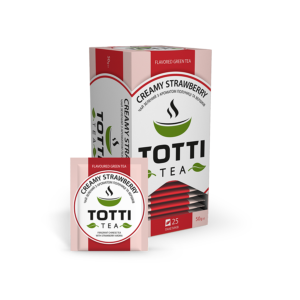 totti tea creamy strawberry